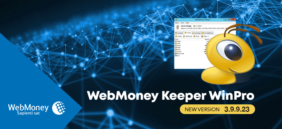 WebMoney Keeper WinPro 3.9.9.23